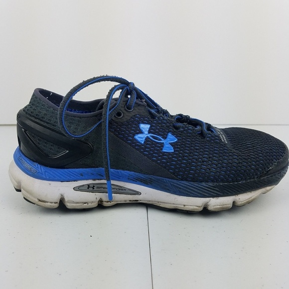 timeless design 976ce cc08c Under Armour Gemini 2 Charged Running Shoes 7 Blue